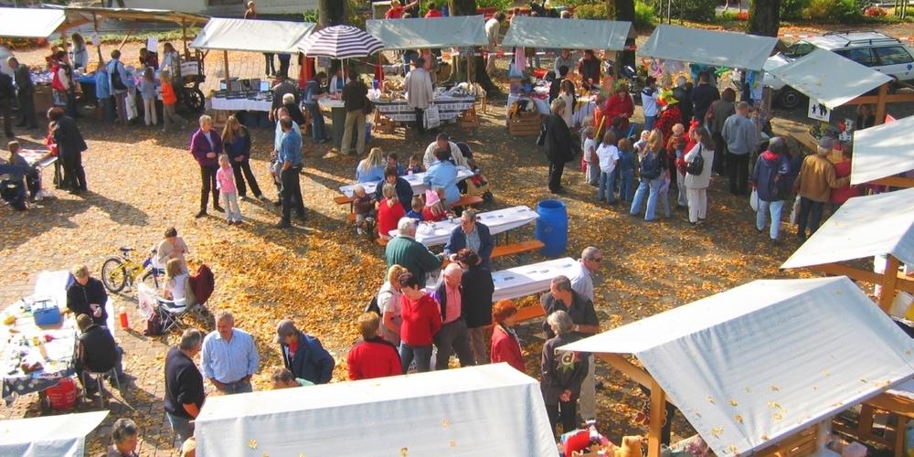 Seit 20 Jahren werden an den Ständen des Ammler Herbstmarkts diverse lokale Produkte angeboten.