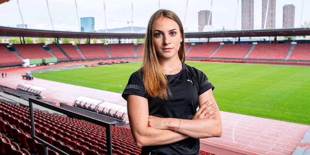 Annik Kälin ist eines von sechs Nachwuchstalenten, das für die Sendung «Morgen sind wir Champions»  porträtiert wurde.