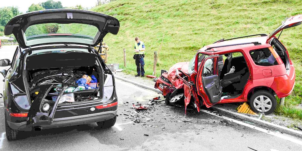 Unfall in Lüthisburg
