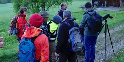 Frühlingswanderung des Natur- und Vogelschutzvereins.