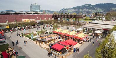 Die Dornbirner Herbstmesse ist auch bei vielen Menschen aus dem Rhintl beliebt