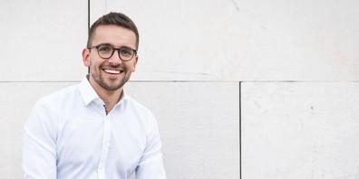 Der neue Geschäftsführer der Industriellenvereinigung in Vorarlberg Christian Zoll