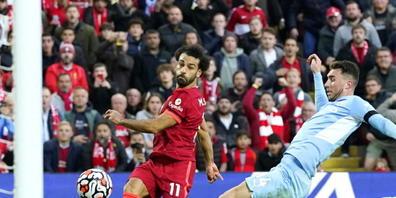 Mohamed Salah ist oft auch von mehreren Abwehrspielern nicht zu stoppen