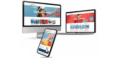 Die neue Webseite des BZWU zeigt sich aufgeräumt, strukturiert und mit viel Platz für das Wesentliche.