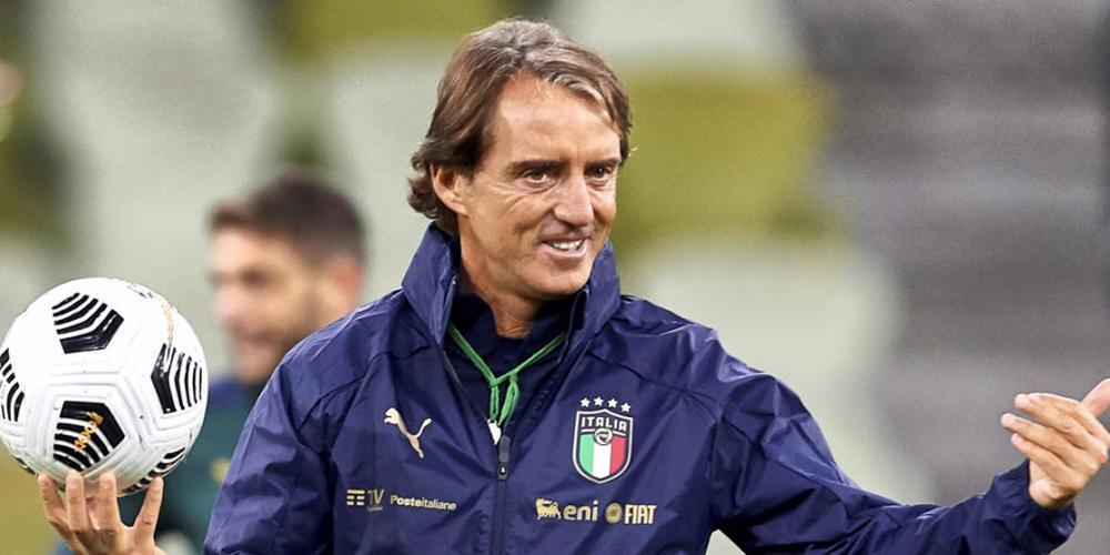 Strotzt vor Selbstvertrauen: Italiens Nationalcoach Roberto Mancini will mit seinem Team in den Final ins Wembley