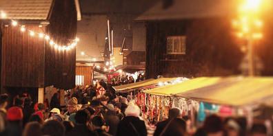 Sollte sich die Covid-Lage nicht noch einmal verschärfen, wird dieses Jahr wieder ein Weihnachtsmarkt in Balgach stattfinden.