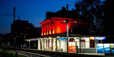 Der Bahnhof Bruggen soll zu einem Quartiertreffpunkt werden.