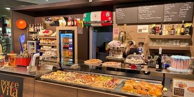 Neu befindet sich im AlbuVille in Rapperswil-Jona das Café Dolce Vita, was für italienische Stimmung sorgt.