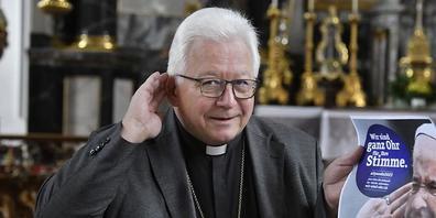 Der St.Galler Bischof Markus Büchel hat ein Ohr für die Anliegen der Gläubigen.