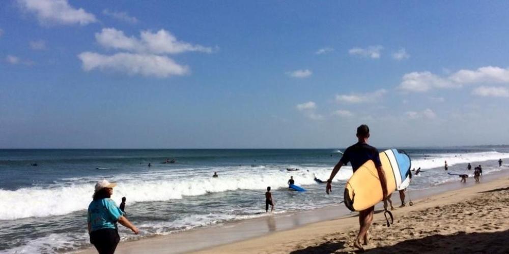 ARCHIV - Bali hofft auf eine baldige Wiederbelebung des wichtigen Tourismus. Foto: Carola Frentzen/dpa