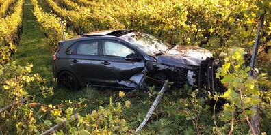 In Hallau hat sich ein Verkehrsunfall ereignet.