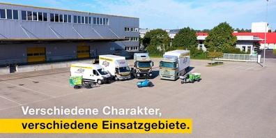 Die aktuelle Innovationsflotte der Camion Transport AG.