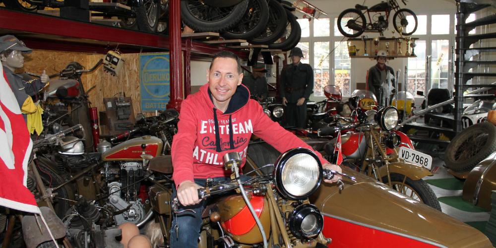 Josef Wüst eröffnet am Samstag, 18. September sein Motorradmuseum am Stickerweg in Oberriet. Von 13 bis 17 Uhr sind alle Interessierten zu einem Besuch eingeladen.