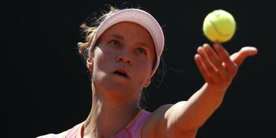 Nach Exploit in Eastbourne im Viertelfinal: Viktorija Golubic