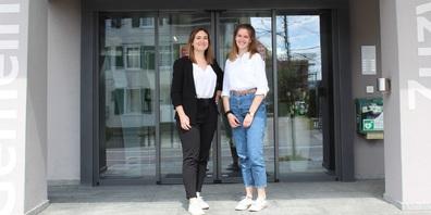 Janine Walder (links) und Chiara Brülisauer.