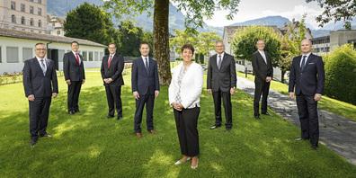 Die Schwyzer Regierungsräte dürfen sich freuen: sie werden mehr Lohn erhalten.