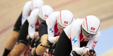 Mit Schweizer Rekord belohnt: Der Frauen-Vierer zeigte in Roubaix einen starken Auftritt