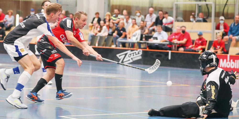 Remo Buchli scheitert am Zuger Schlussmann Petter Nilson.