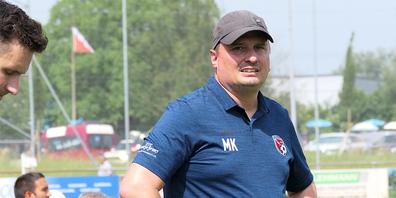 Der in der Winterpause gekommene Trainer Marcel Küng brachte Schwung in das Team - leider hat es nicht gereicht