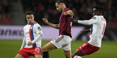 Lyon mit Xherdan Shaqiri schaffte in Prag die Wende und bleibt damit sicherer Leader in seiner Europa-League-Gruppe