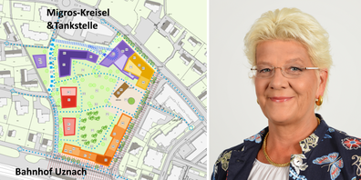 Die Überbauung der Streuli Pharma AG umfasst 30 000 Quadratmeter. CEO Claudia Streuli möchte kein Wettbewerbsverfahren.