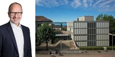 Der St. Galler Bildungschef Stefan Kölliker steht ein für ein BWZ im Südquartier, lässt aber ein Türchen für das Zentrum offen.