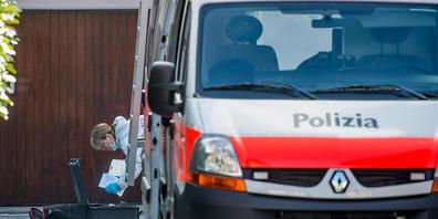 In Locarno ist es am Donnerstagabend zu einer Bluttat gekommen. Ein Mann verletzte eine Frau mit einer Schusswaffe schwer. (Symbolbild)