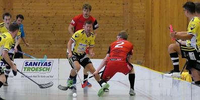 Die Rheintal Gators und die Vipers Innerschwyz lieferten sich in der Aegetenhalle ein nervenzerfetzendes Spiel
