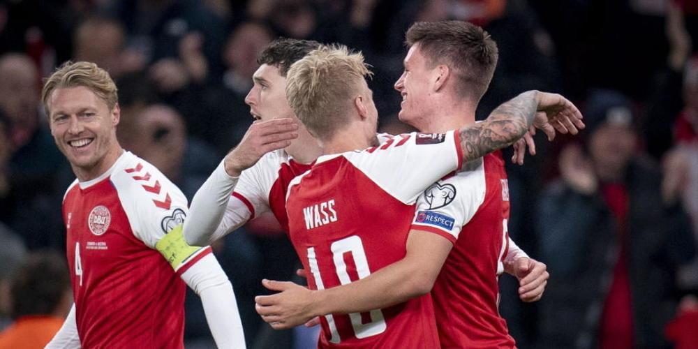 Die Dänen jubeln über ihre WM-Qualifikation