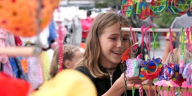 Kilbis und Märkte sind für Kiddys und Teenies immer wieder ein Ort der Freude