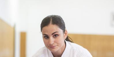 Elena Quirici macht sich bereit für das Olympia-Debüt und die Olympia-Dernière ihrer Sportart Karate
