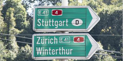 Ab dem 20. September wird die A4 zwischen Herblingen und Thayngen gesperrt. (Symbolbild)