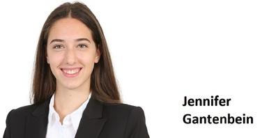 Jennifer Gantenbein, Lehrabgängerin 2021, Raiffeisenbank Regio Uzwil.