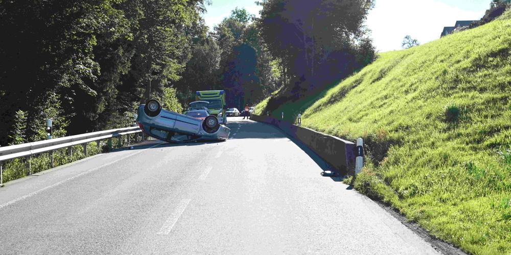 In Degersheim kam es am Freitag zu einem Unfall.
