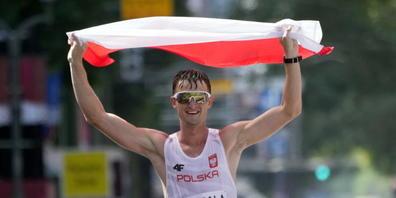 Dawid Tomala aus Polen - letzter Olympiasieger im 50-km-Gehen?