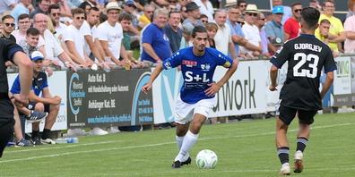 Auch Defensivspieler Sahin Kaya ist wieder fit und einsatzfähig