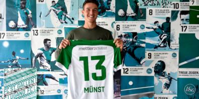 Der FC St.Gallen hat für die kommende Saison den offensiven Mittelfeldspieler Leonhard Münst vom VfB Stuttgart ausgeliehen.