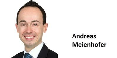 Andreas Meienhofer, Firmenkundenberater, Mitglied des Bankleitung, Raiffeisenbank Regio Uzwil.