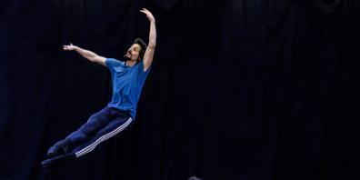 Ioannis Mandafouinis schlüpft zum letzten Mal in die Rolle des Tänzers