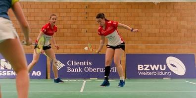 Das starke Frauendoppel mit Cheryl Seinen (rechts) und Milena Schnider.