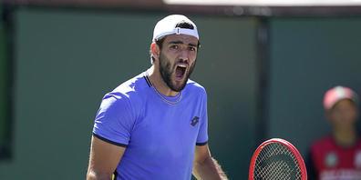 Matteo Berrettini gehört zu den acht besten Tennisprofis der Saison
