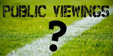 Ob es ein Public Viewing geben wird, ist noch offen.