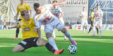 In den Cup-Achtelfinals trifft der FC Schaffhausen auf den FC Luzern. (Archivbild)