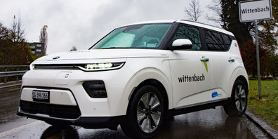 In Wittenbach stehen entweder ein Kia, ein Peugeot oder ein VW bereit