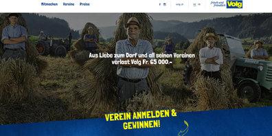 Volg verlost 65'000 Franken für Vereine