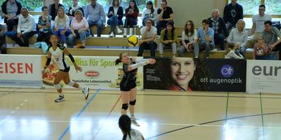 Libera Lara Hasler zeigte in Cheseaux ein starkes Spiel.
