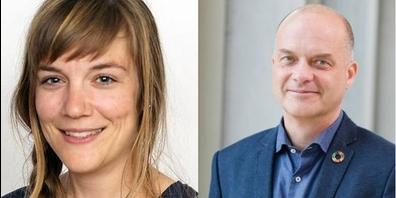 Daniela Epple und Stefan Tittmann von der OST