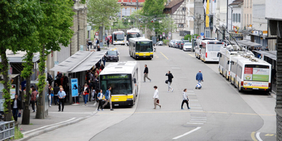 Der Schaffhauser Stadtrat hat ein neues Gesamtverkehrskonzept verabschiedet. (Archivbild)