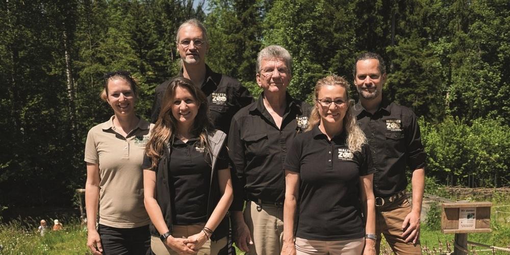 Die Geschäftsleitung des Walter Zoos