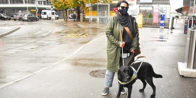 Ein eingespieltes Team: Maria-Rita Oddo mit ihrem Hund Ivan.
